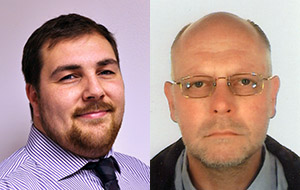 Chris Hibbs (left) and Phil Greenough