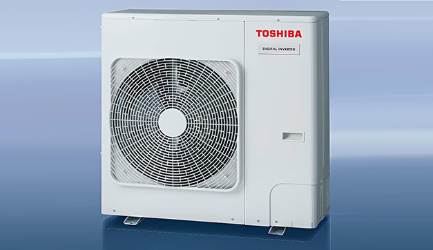 Photo of Toshiba's lighter condensing units