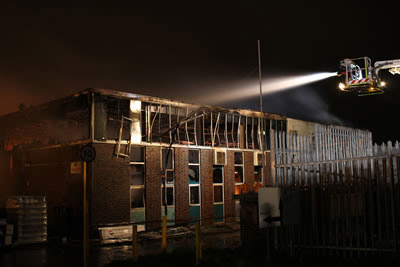 Photo of Huge fire at Searle factory