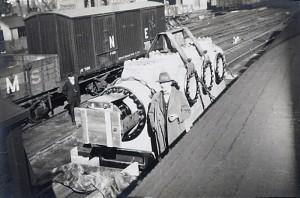 Compressor in siding