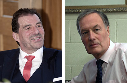 Bob Arthur (left) and Matt Morton are stepping up to the IoR executive council