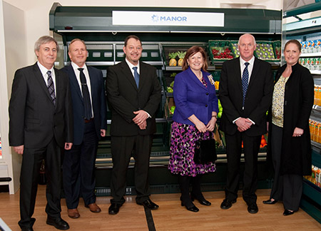 Photo of Business leader visits Manor