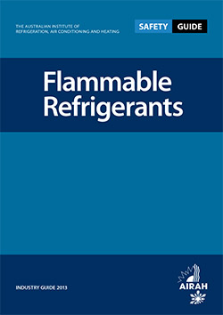 Flammable Refrigerants Safety Guide cover