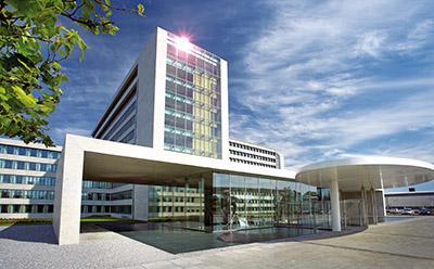 The Danfoss headquarters in Nordborg, Denmark
