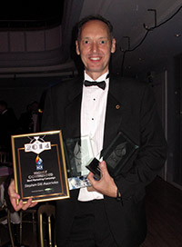 Steve Gill adds awards for Top Consultant and Environmental Champion at the NACRA Awards to recent successes at the ACR News Awards and the international Stevie Awards