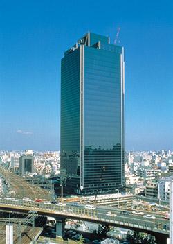 The Daikin hq building in Osaka
