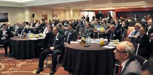 delegates Toshiba conference