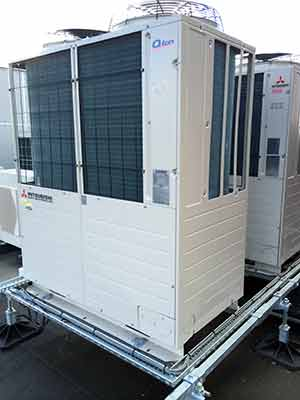 MHI Q-ton heat pump