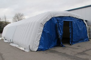 Inflatable cold store