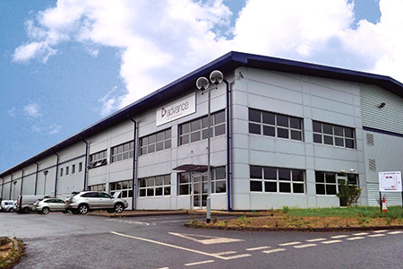 The new premises on the Hilton Business Park