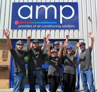 AMP bike ride
