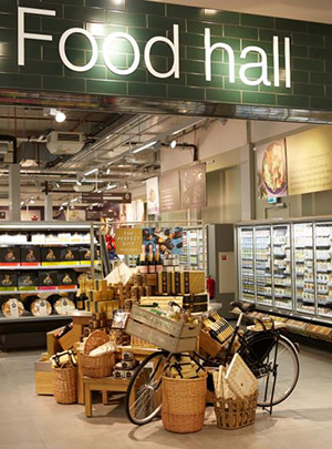 The new M&S store in The Hague is fitted with doors on its refrigerated cases
