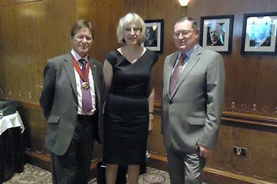 Theresa May with