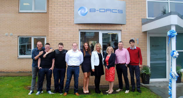 Photo of Scottish MP opens new B-DACS office