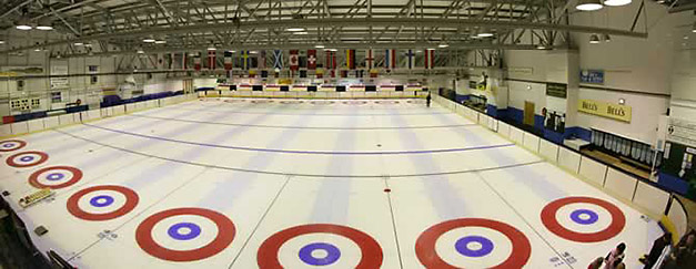 Dewar Perth curling rink