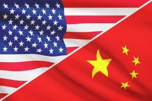 Emerson USA and China flag