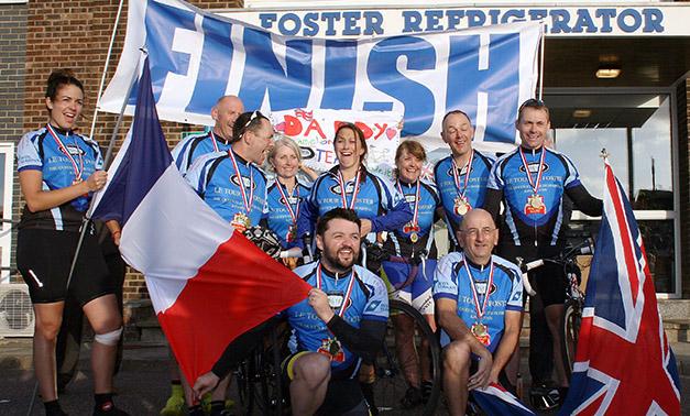 tour de foster finish