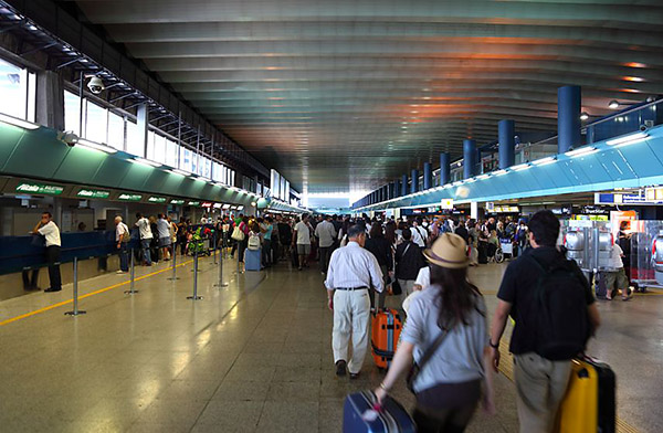 Fiumicino in Rome is Italy's busiest airport and the venue for one of the Cascade pilot projects