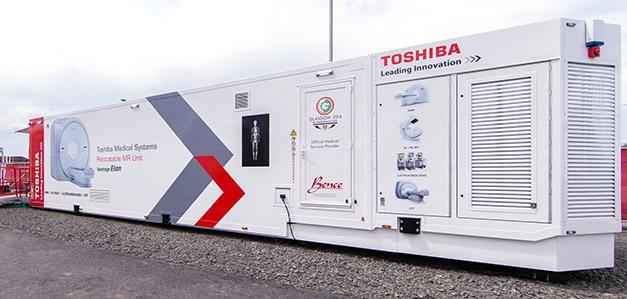Toshiba MRI scanner
