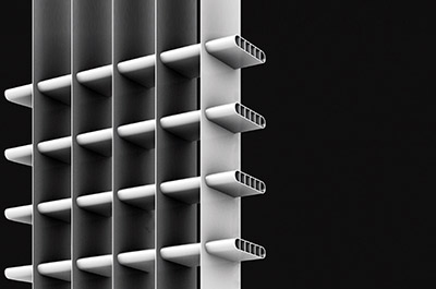 Mitsubishi-aluminium-heat-exchanger
