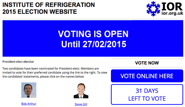 IoR-vote-website
