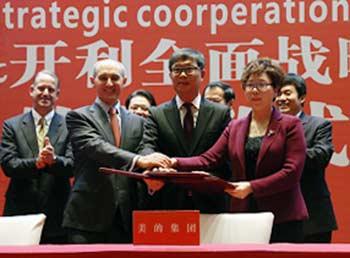 Carrier_Midea-strategic-partnership