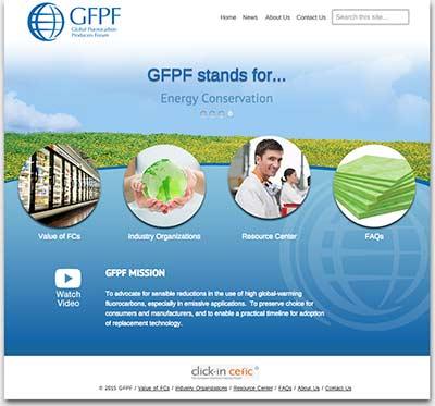 GFPF-website