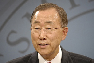 "Ban Ki-moon: ""Steps to address short-lived climate pollutants are now seen as an essential complement of the aggressive mitigation actions needed to combat climate change"""