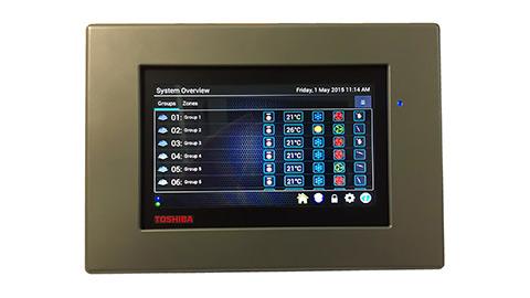 Photo of Toshiba's intuitive touchscreen controller