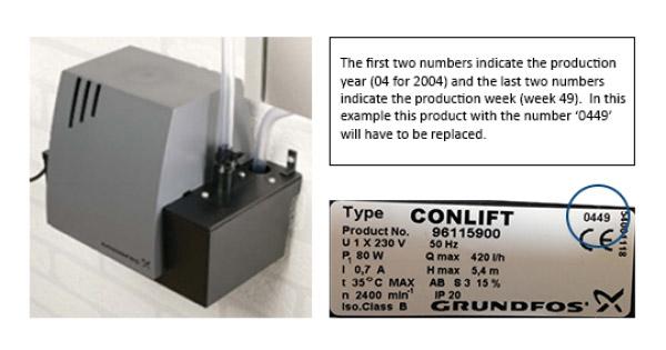 Grundfos-Conlift-recall