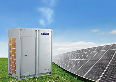 Gree-PV-powered-VRF-system