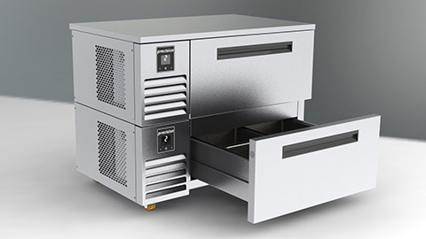 Photo of Precision upgrades refrigerated drawer