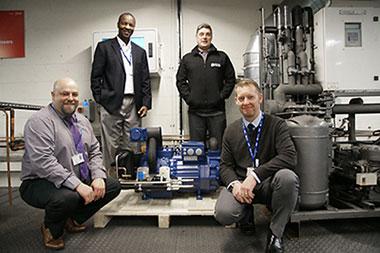Grimsby-Institute-refrigeration-team