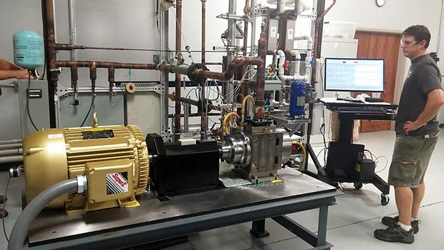 40-Ton-TORAD-Spool-Compressor-on-Test-Stand-in-Cumming-Georgia