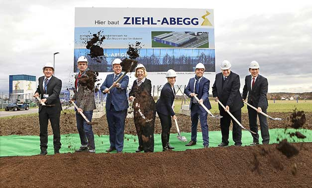 ziehl-abegg-ground-breaking