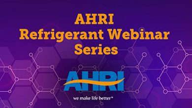 Photo of AHRI refrigerant webinars online