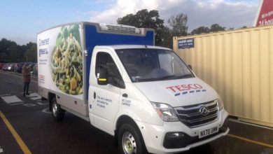 Photo of Thermo King cools Tesco's all-electric vans