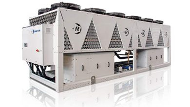 Photo of Rhoss chillers and heat pumps on R454B