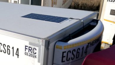 Photo of Solar-powered reefer could save 1,000 litres of fuel per year
