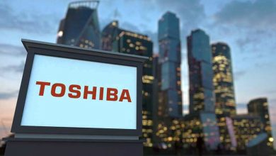 Photo of Toshiba CEO resigns