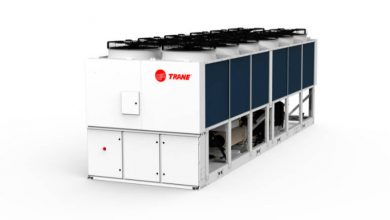 Photo of Trane air-to-water heat pump adopts screw compressor